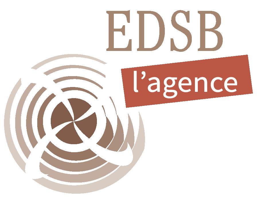 Logo pour EDSB l'agence (2015)